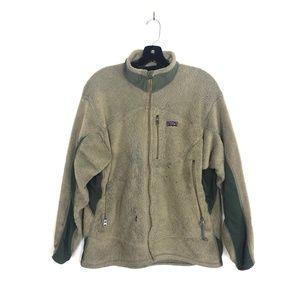 [Patagonia] Fleece Zip Up Jacket Brown